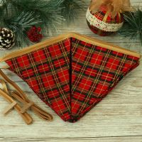 <!-- 007 -->Tartan Christmas Decoration: Xmas Bunting