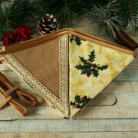 <!-- 023 -->Christmas Flags: Rustic Xmas Decoration