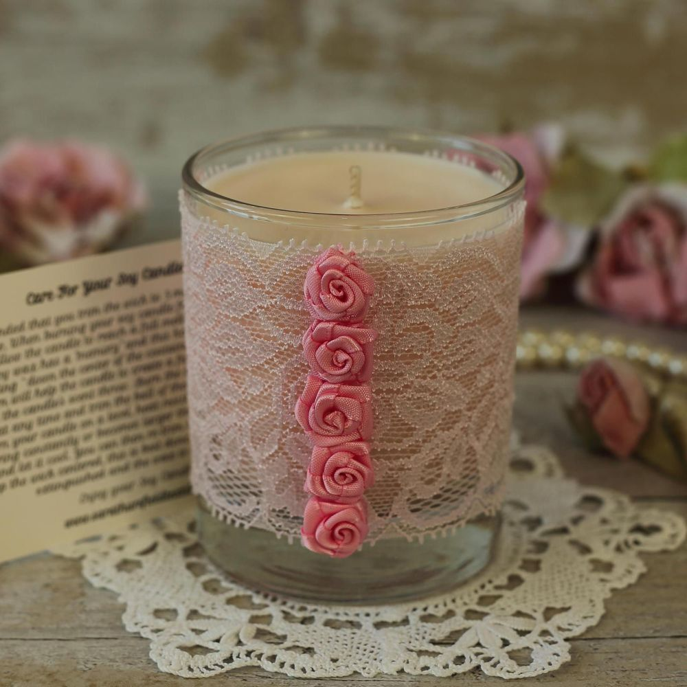 <!-- 005 -->Handmade Soy Candle: Mother's Day Candle