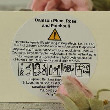 CLP Dam plum rose patch
