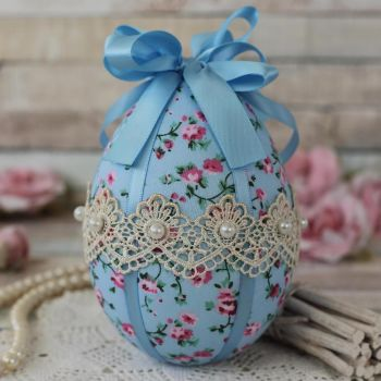 Blue Easter Egg Decoration