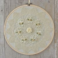 <!-- 008 -->Country Home Decor: Fabric Wall Hanging Art