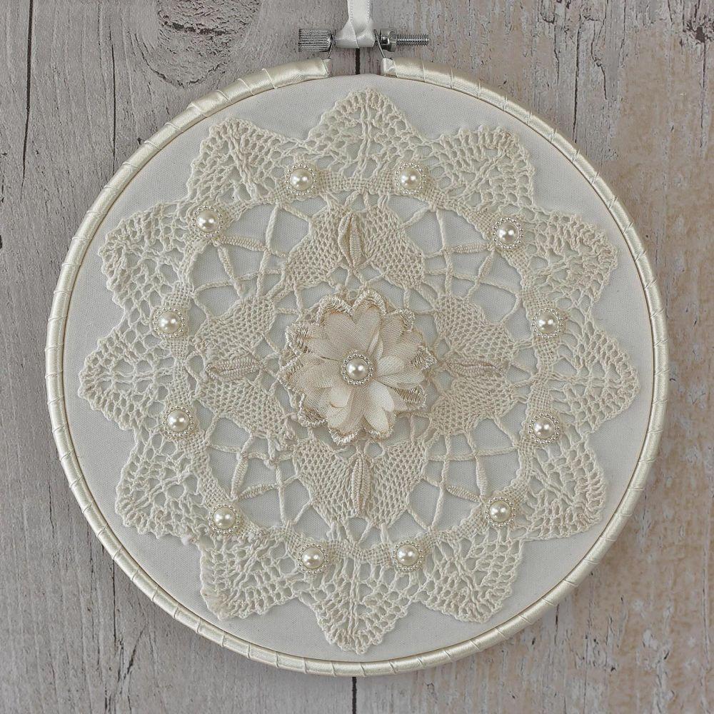 Boho Wall Art: Fabric Decoration