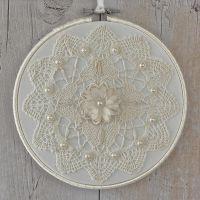 <!-- 012 -->Boho Wall Art: Fabric Decoration
