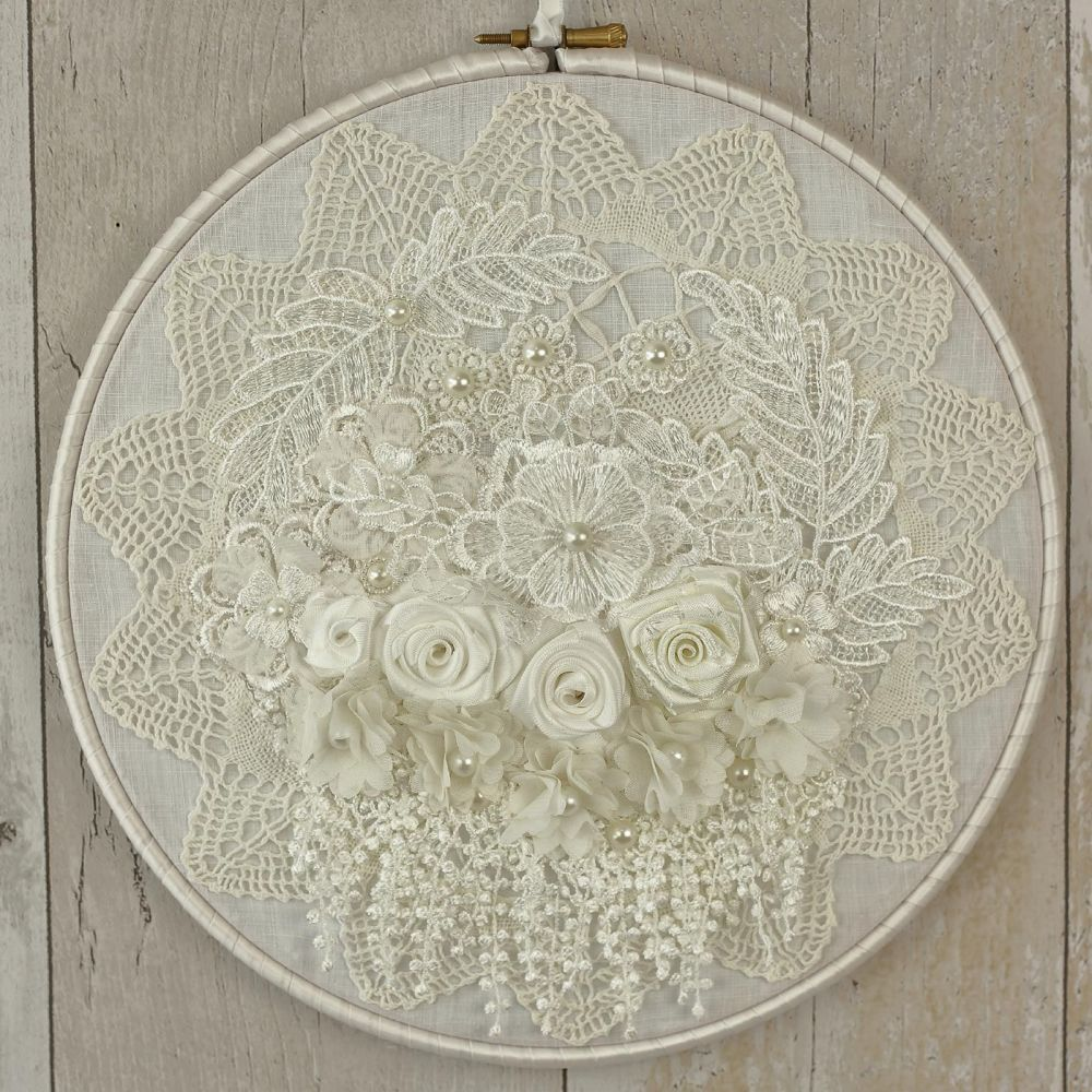 <!-- 006-->Fabric Wall Art: Boho Chic Decor