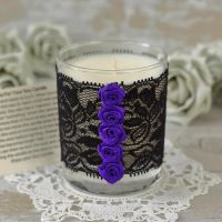 <!-- 010 -->Scented Soy Wax Candle: Gothic Candle Gift