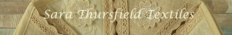 Sara Thursfield Contemporary Textiles, site logo.