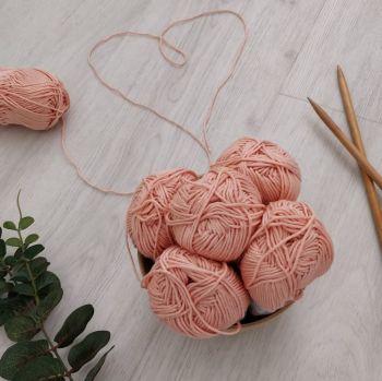 Soft Pink Wool