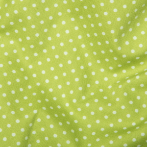 Rose & Hubble - 3mm Polka Dot in Lime, per fat quarter
