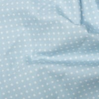 <!--1057-->Rose & Hubble - 3mm Polka Dot in Powder Blue, per fat quarter