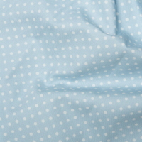 <!--1057-->Rose &amp; Hubble - 3mm Polka Dot in Powder Blue, per fat quarter