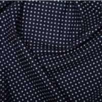 <!--1059-->Rose & Hubble - 3mm Polka Dot in Navy, per fat quarter