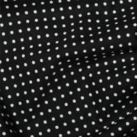 <!--1203-->Rose & Hubble - 3mm Polka Dot in Black, per fat quarter