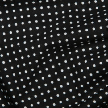 Rose & Hubble - 3mm Polka Dot in Black, per fat quarter