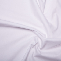 <!--1010-->Rose & Hubble - Plain in White, per fat quarter