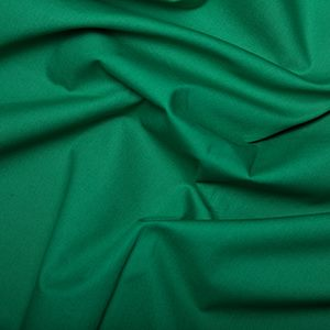 Rose & Hubble - Plain in Emerald, per fat quarter