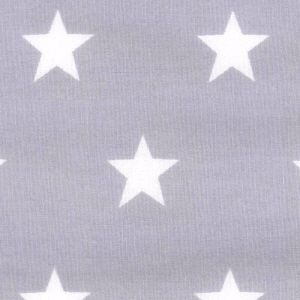 Stars - Silver Grey (not metallic)