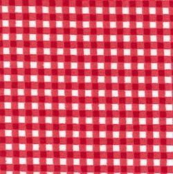Rose & Hubble - Gingham in Red, per fat quarter ***Was £1.15***