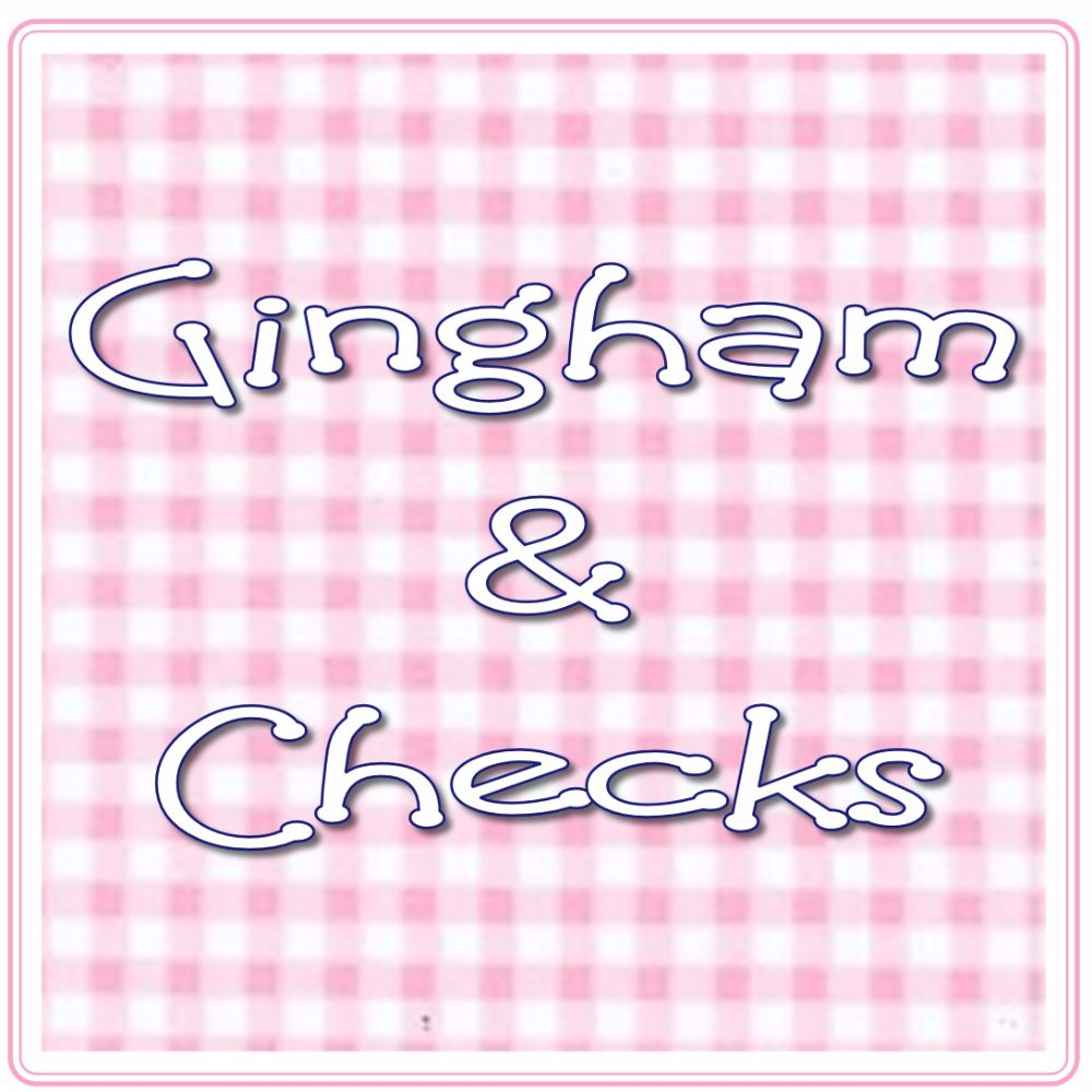 <!-- 003 --> Gingham &amp; Checks
