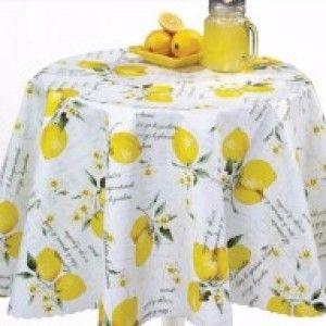 PVC Coated - Italian Lemons, per quarter (50cm x 70cm) ***WAS £1.00***