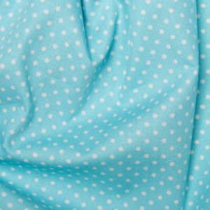 Rose & Hubble - 3mm Polka Dot in Sky Blue, per fat quarter