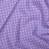 <!--1208-->Rose & Hubble - 3mm Polka Dot in Lilac, per fat quarter