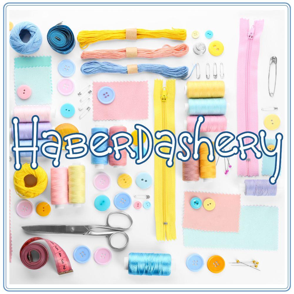 <!-- 008 -->Haberdashery