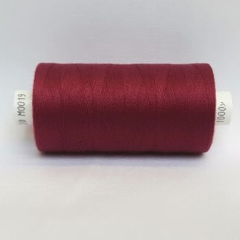 1 x 1000yrd Coats Moon Thread - M0019