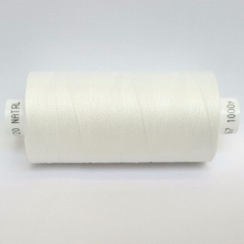 1 x 1000yrd Mixed Coats Moon Thread - Natural