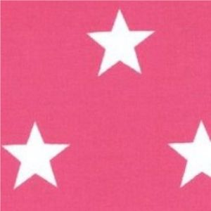 Rose & Hubble - Stars On Cerise, per fat quarter