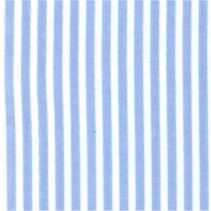 Rose & Hubble - 3mm Stripe in Blue, per fat quarter