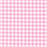 <!--1094a-->Rose &amp; Hubble - Gingham in Pink , per fat quarter