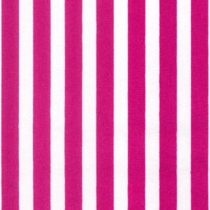Rose & Hubble - 8mm Stripe in Cerise, per fat quarter ***WAS £1.15***