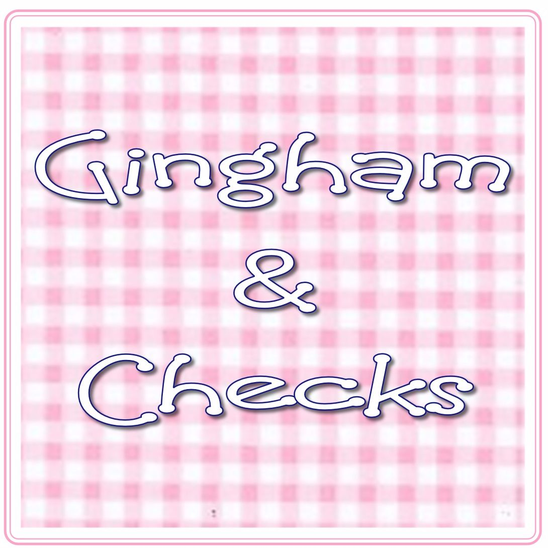 Gingham & Checked Fabrics