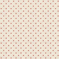 <!--9051-->Makower UK - Scandi Mini Stars in Red, per fat quarter