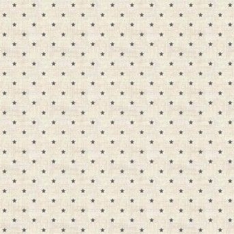 Makower UK - Scandi 3 Mini Stars in Grey, per fat quarter  ***Was £2.25***
