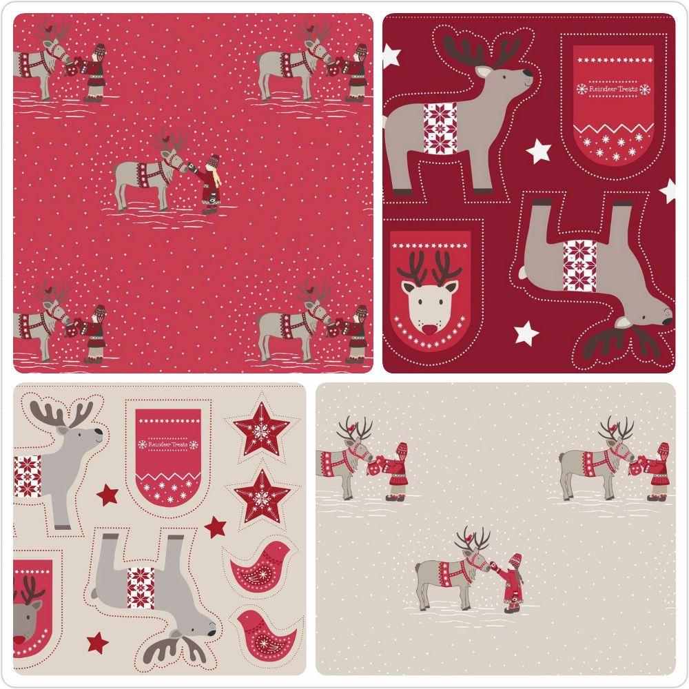 The When I Met Santas Reindeer Collection