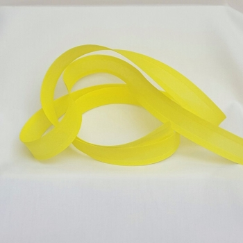 25mm Bias Binding - Lemon, per metre