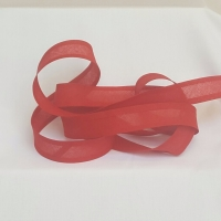 <!-- 028 --> 25mm Bias Binding - Cherry, per metre