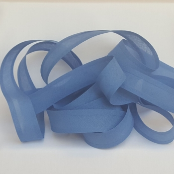 25mm Bias Binding - Butcher Blue, per metre