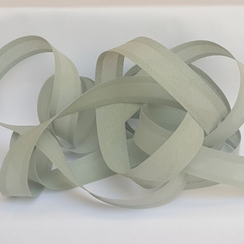 25mm Bias Binding - Dove Grey, per metre