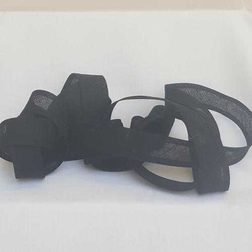 25mm Bias Binding - Black