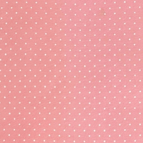 <!--550-->Wool Blend Felt - Plain in Rose Pink, per sheet - Available in 2