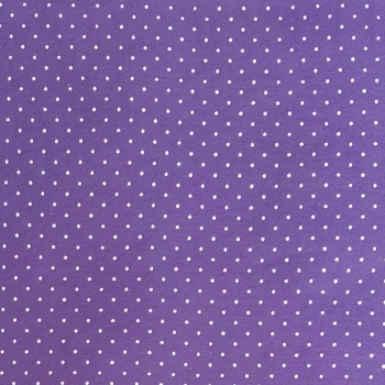 Wool Blend Felt - Polka Dot in Lavender, per sheet - Available in 2 sizes