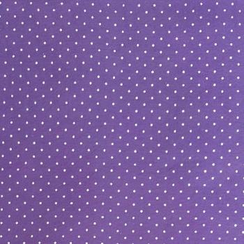Wool Blend Felt - Polka Dot in Lavender, per sheet - Available in 2 sizes