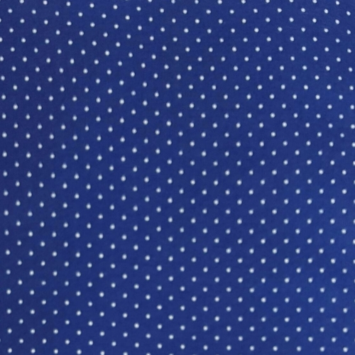 <!--554-->Wool Blend Felt - Polka Dot in Trafalgar, per sheet - Available i