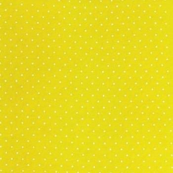 Wool Blend Felt - Polka Dot in Primrose, per sheet - Available in 2 sizes
