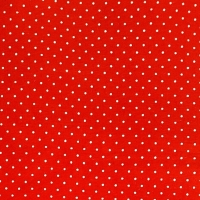 <!--0558-->Wool Blend Felt - Polka Dot in Oriental Red, per sheet - Available in 2 sizes