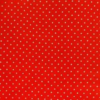 <!--0558-->Wool Blend Felt - Polka Dot in Oriental Red, per sheet - Available in 2 sizes
