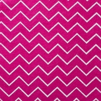 <!--0570-->Wool Blend Felt - Chevron in Deep Fuchsia Pink, per sheet - Available in 2 sizes  ***Was £0.40***